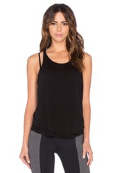 Solow Double Layer Tank Black