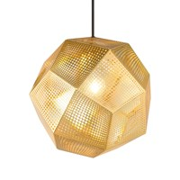 Tom Dixon Etch Pendant Light Brass