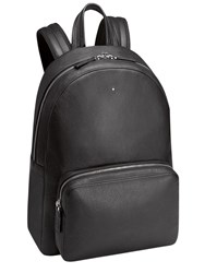 Montblanc Meisterstuck Softgrain Leather Backpack Black