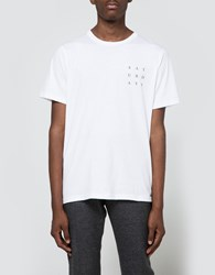 Saturdays Surf Nyc Grid Tee White