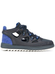 Camper Cut Out Sneakers Blue