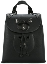 Hysteric Glamour Studded Bear Backpack Black