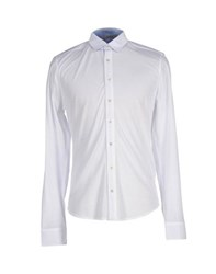 Alpha Massimo Rebecchi Shirts Shirts Men White