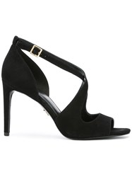 Michael Michael Kors Ankle Strap Sandals Black