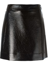 Michael Michael Kors High Waisted Mini Skirt Black