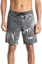 Quiksilver Men's Big And Tall Offset Board Shorts Black