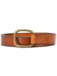 Dsquared2 Squared Buckle Belt Brown