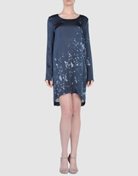 Lutz Short Dresses Dark Blue