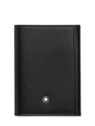 Montblanc Bch Trifold Leather Wallet