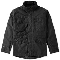 Barbour Sapper Wax Jacket Black