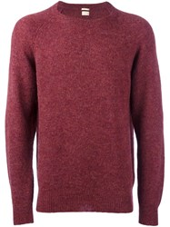 Massimo Alba 'Stipe' Jumper Pink And Purple