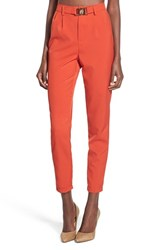 Women's Missguided Belted Crop Trousers