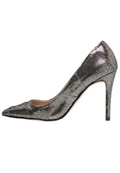 Kiomi Classic Heels Metallic Black Gold