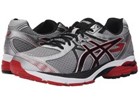 Asics Gel Flux 3 Silver Onyx Racing Red Men's Running Shoes White