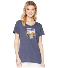 Columbia Badge Tee Nocturnal Heather T Shirt Gray