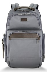 Briggs And Riley Work Large Cargo Backpack Grey