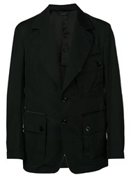 Tom Ford Cargo Pocket Military Jacket Black