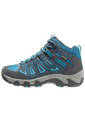 Keen Oakridge Wp Walking Boots Navy Algiers Blue
