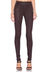 James Jeans James Twiggy Legging Burgundy