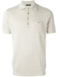 Roberto Collina Classic Polo Shirt Nude And Neutrals