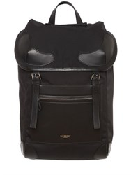 Givenchy Nylon Blend And Leather Backpack