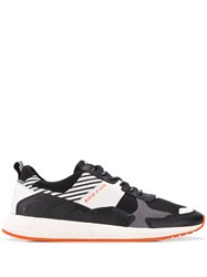 Moa Master Of Arts Stripe Panel Sneakers Black