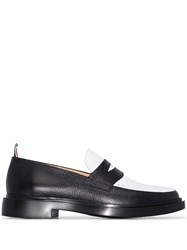 Thom Browne Penny Two Tone Leather Loafers 60