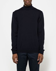 Norse Projects Marius Fine Merino Dark Navy