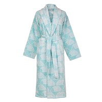 Scion Spike Bathrobe Aqua Blue