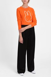 Chinti And Parker Women S Miffy Face Jumper Boutique1 Orange