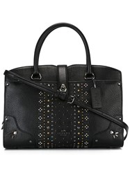 Coach Studded Tote Black