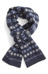 Barbour Men's 'Martingale' Fair Isle Wool Scarf