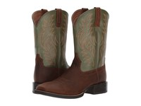 Ariat Sport Western Wide Square Toe Rafter Tan Prairie Pesto Cowboy Boots Brown