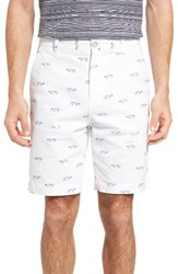 Rodd And Gunn Men's Lauriston Print Twill Shorts