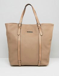 Silvian Heach Shopper Bag With Coin Purse Beige