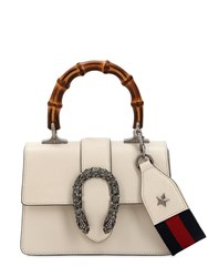 Gucci Mini Dionysus Bamboo And Leather Bag White