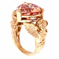 Metal Couture Tangerine Dreams Ring Gold