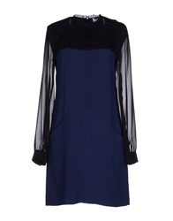 Axara Paris Short Dresses Blue