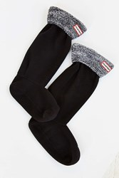 Hunter Cable Knit Boot Sock Black Multi