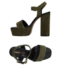 Ottod'ame Sandals Military Green