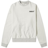 Unravel Project Skull Print Crew Sweat Neutrals