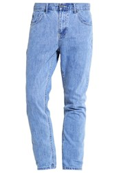 Your Turn Straight Leg Jeans Vintage Blue Blue Denim