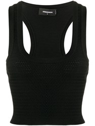 Dsquared2 Knitted Crop Top 60