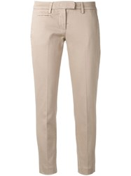 Dondup Cigarette Trousers Nude Neutrals