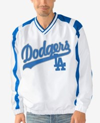 G3 Sports Men's Los Angeles Dodgers Heavy Hitter Pullover White