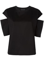 Diesel Black Gold Slit Shortsleeves T Shirt Black