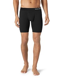Tommy John Cool Cotton Boxer Briefs Black