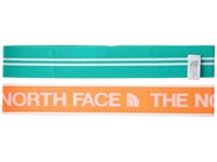The North Face Sporty Shorty Headbands Fiery Coral Billard Green Headband