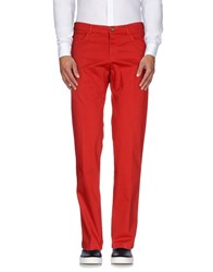 Tombolini Trousers Casual Trousers Men Red