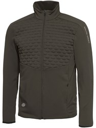 Galvin Green Darin Insula Full Zip Jacket Brown